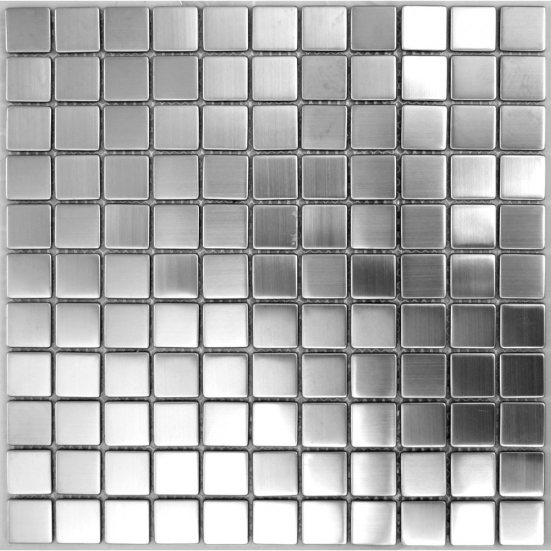 Ohss Ssm Brushed Stainless Steel Mosaic Laporsa