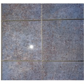 (119p) Ascas Blue Polished Porcelain 10x10 Mosaic