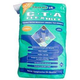 CTA Flexible White Adhesive 20kg