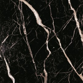 (114p) Nero Marquina polished porcelain 60x60 Sold Singularly