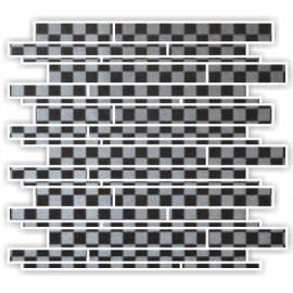 ARGENTO METTALICO MOSAICS LINER 30X30CM