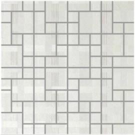 Perla Bianco Polished Porcelain Random Mosaics 30x30cm