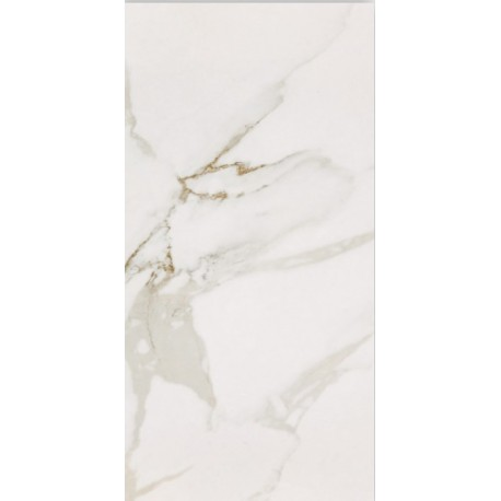 (115p) Statuario polished porcelain 30x60 Sold Singularly