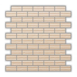CODEX BIANCO MOSAICS BRICK 30X30CM