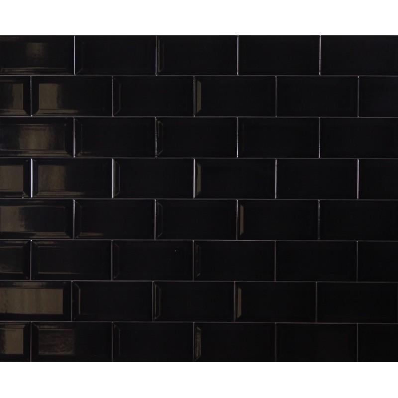 Black And White Mosaic Tiles Kitchen