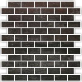 Bronzo Mosaics Brick 30x30