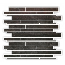 Bronzo Semi Polished Mosaics 30X30 Linier