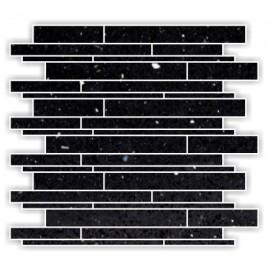 Black Mirror Fleck Quartz Mosaics Liner