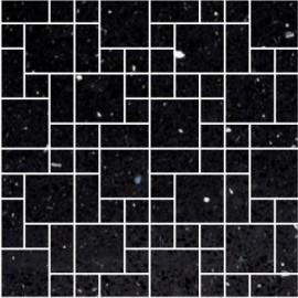 Black Mirror Fleck Quartz Mosaics Random