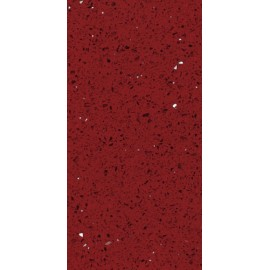 Ruby Red Mirror Fleck Quartz