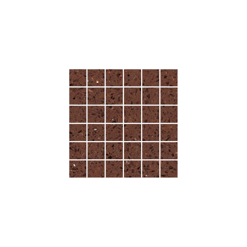 Brown mirror fleck quartz mosaics large square for Big square mirror