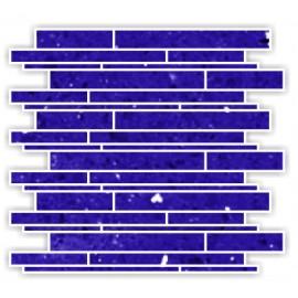 Mirror Blue Fleck Quartz Mosaics Liner