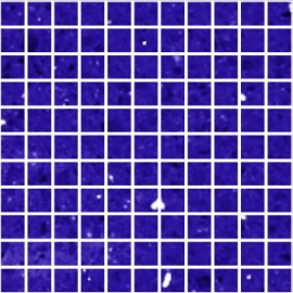 Blue Mirror Fleck Quartz Mosaics Small Square