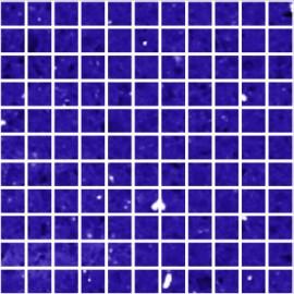 Blue Mirror Fleck Quartz Mosaics Small Square