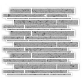 Grey Mirror Fleck Quartz Mosaics Liner