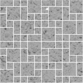 Grey Mirror Fleck Quartz Mosaics Random