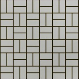 (OHSS-M-TM) Brushed Stainless Steel Mosaic