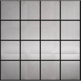 Polished Stainless Steel Mosaic