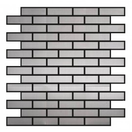 Chrome Stainless Steel Mosaic Brick