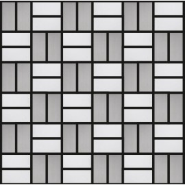 Blended Stainless Steel Mosaic