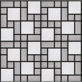 Blended Stainless Steel Mosaic Random