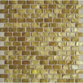 Green Shell Mosaic Rectangular