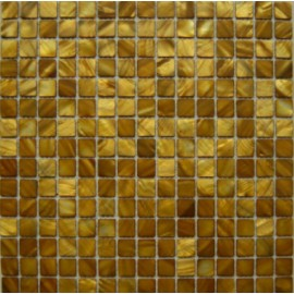 Brown/Gold Shell Mosaic