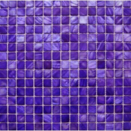 Purple Shell Mosaic