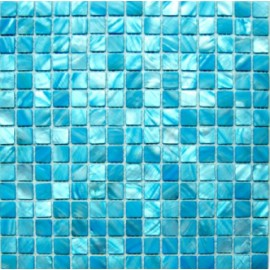 Light Blue Shell Mosaic