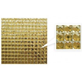Gold Crystal Mosaic