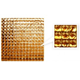 Antique Gold Crystal Mosaic