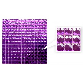 Purple Crystal Mosaic