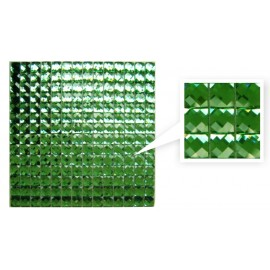 Green Crystal Mosaic
