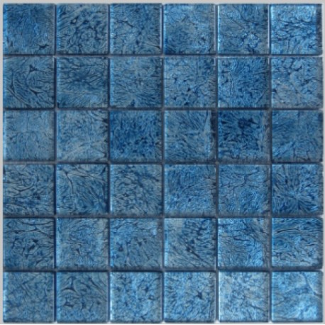 Blue Leaf Mosaic