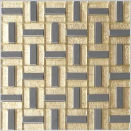 Gold & S/S Leaf Mosaic