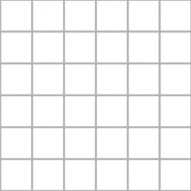 Super White Mosaics Large Square 30x30cm