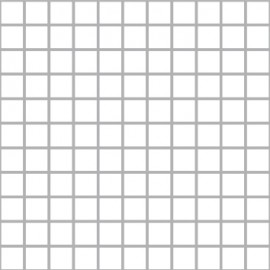 Super White Mosaics Small Square 30x30cm