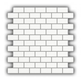 Matt Super White Brick Mosaic