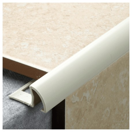 Tile Rite Pro Tile Trim White 12mm Laporsa