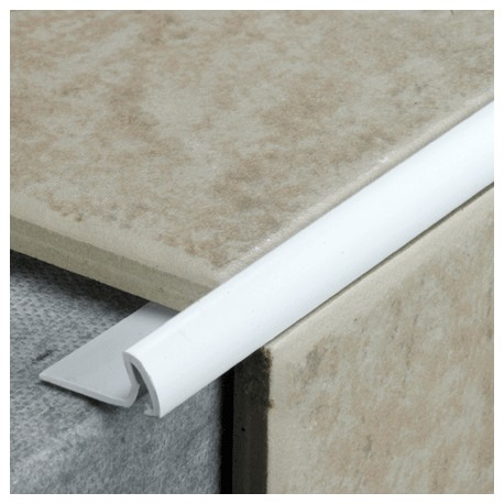 7mm Tile Edging white