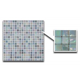 Mixed Green/Blue Glass Mosaic