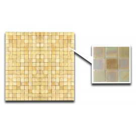 Yellow Glass Mosaic