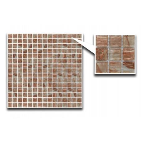 Copper Glass Mosaic