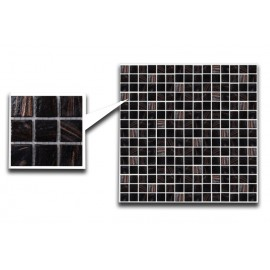 Brown Glass mosaic