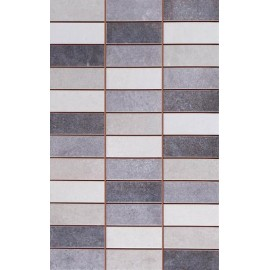 Sal Mosaic Oxy Antracite 25x40