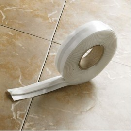 Bath trim fixing tape