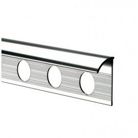 TileRite Economy Silver Trim 6mm