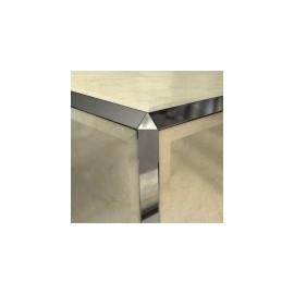 12mm triangular stainless effect trim