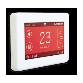 Thermotouch 4.3 dc Thermostat Ice White