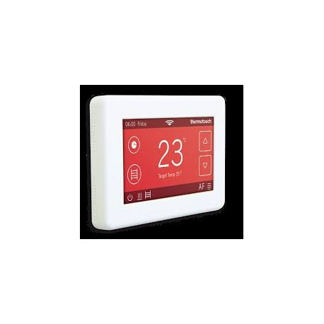 Thermotouch 4 3 Dc Thermostat Ice White Laporsa
